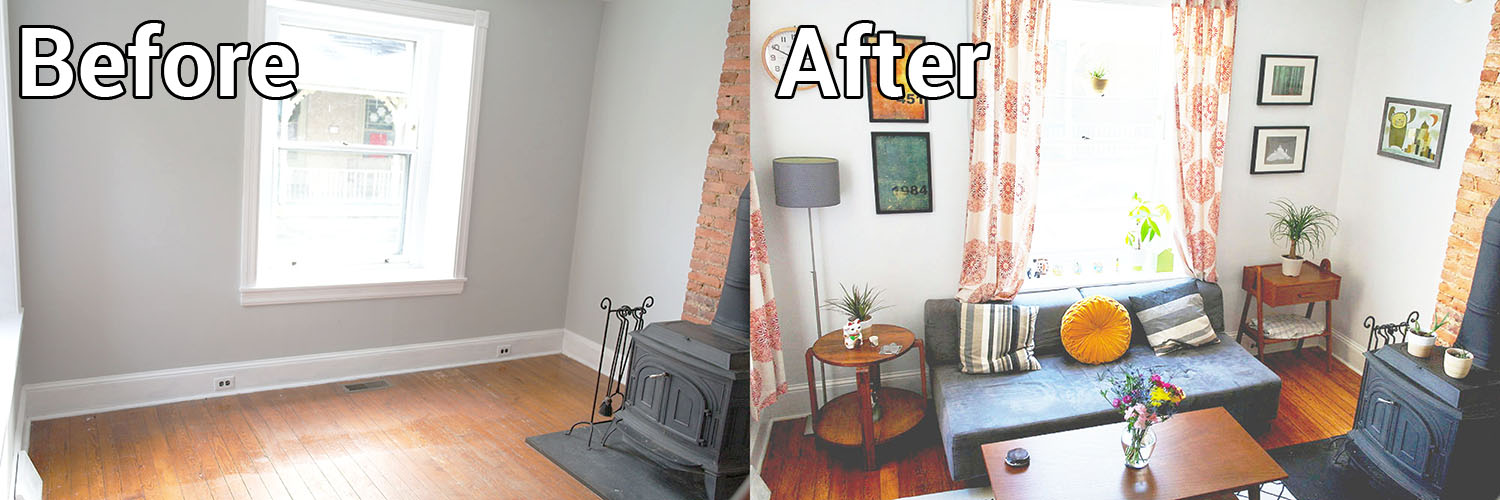 Room Redo: Living Room Before And After